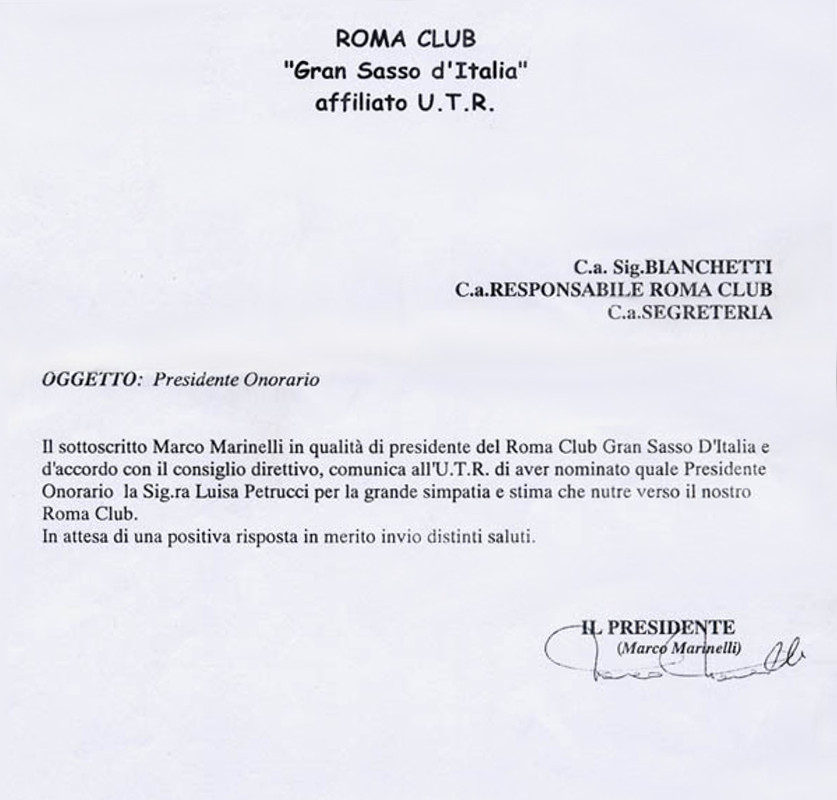 Roma Club Gran Sasso